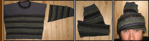 recycling an old sweater