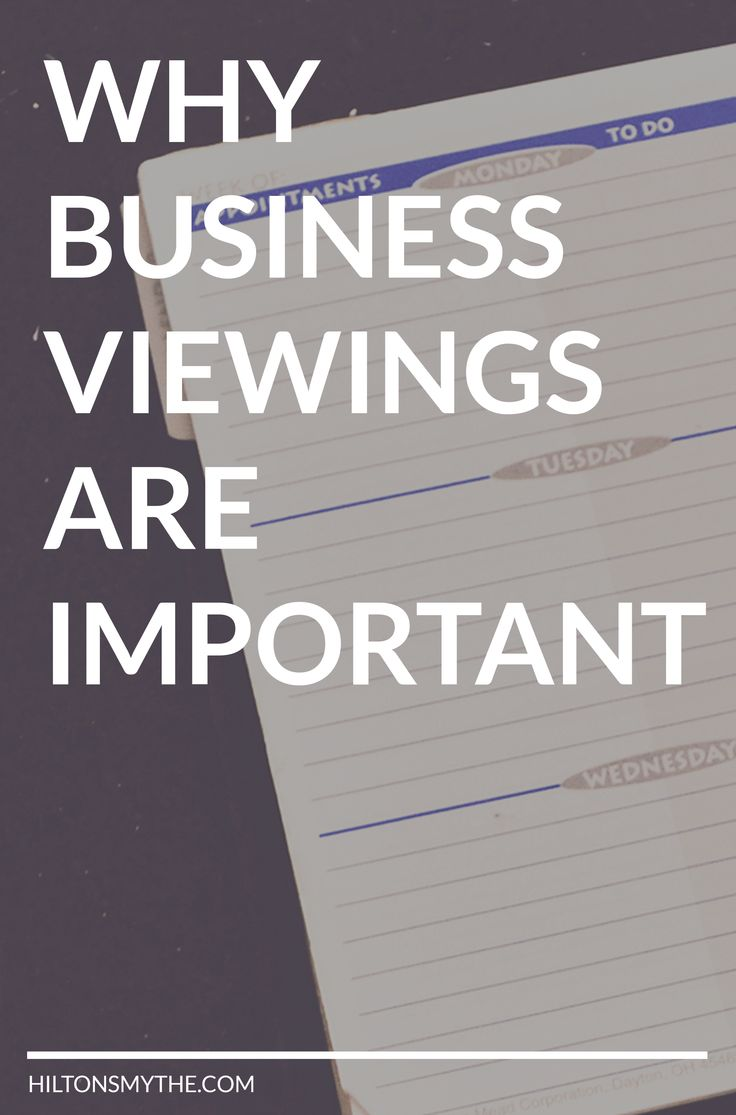 When buying a business, it is important to view the business. Here's the top reasons why you need to view a business before buying!