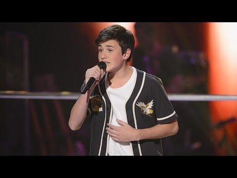 Chris sings The A Team   The Voice Kids Australia 2014 - YouTube