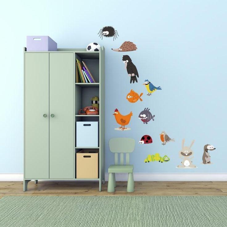 Adesivi da parete Adesivo da parete a colori ''Animaletti Set'' Vinyl Wall Stickers Decals https://www.adesiviamo.it/prodotto/1037/Adesivi-da-parete/Adesivi-da-parete/Adesivo-da-parete-a-colori-Animaletti-Set-Vinyl-Wall-Stickers-Decals.html