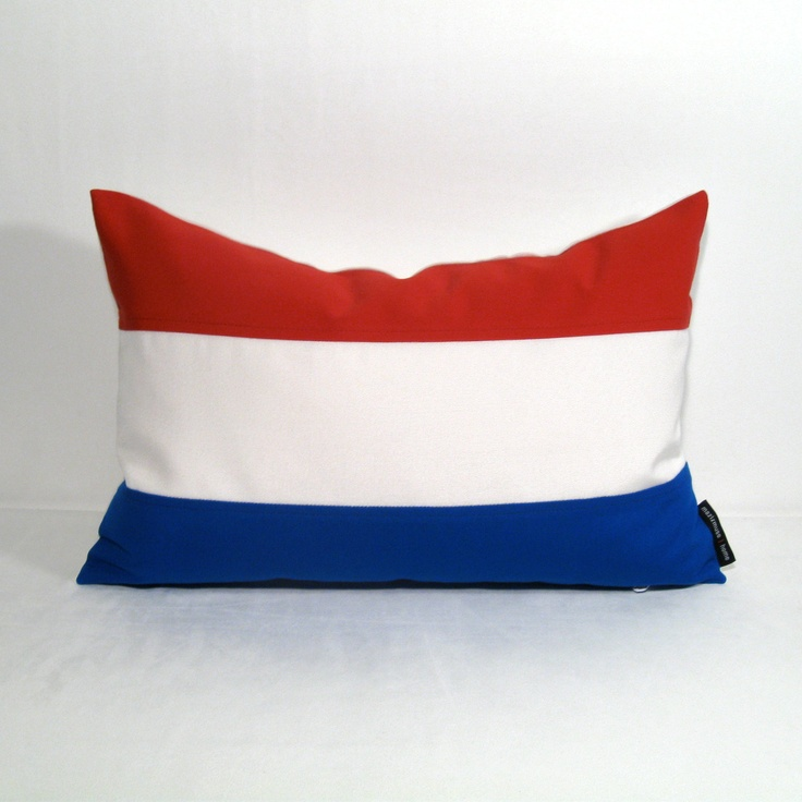 Netherlands Flag Pillow Cover