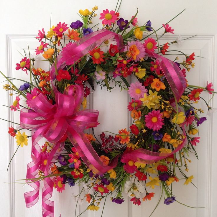 Cheer Up with this bright fun spring wreath!