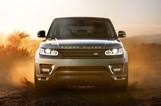 Range Rover Sport Off Road