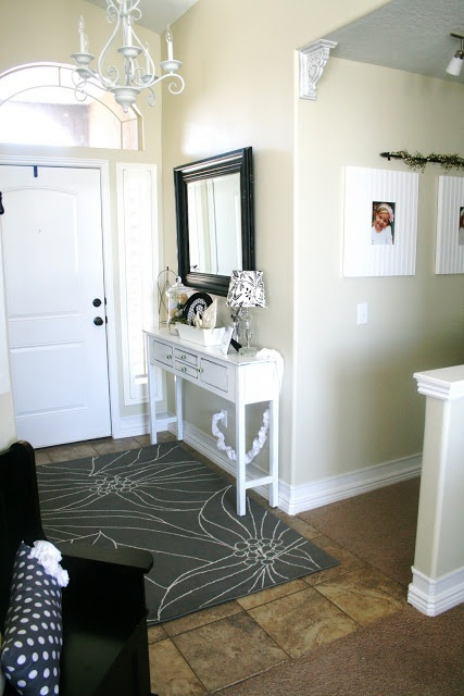 90 best entryway ideas images on pinterest Decorate a large wall cheaply