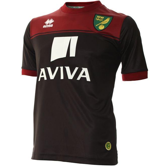 New Norwich Away Kit 14 15