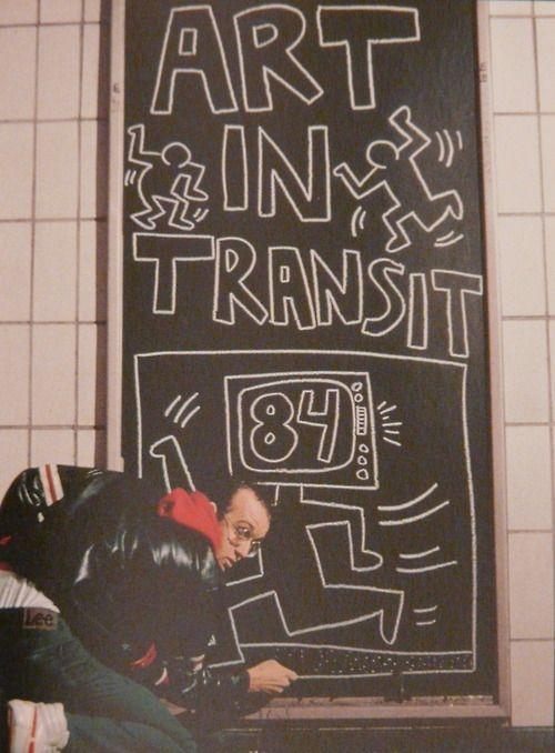 Keith Haring: Art In Transit 84.