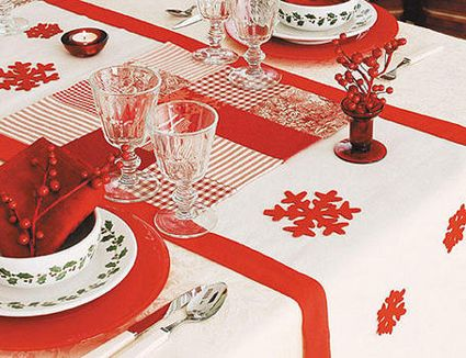 M s de 1000 im genes sobre decoraci n navide a mesa - Como decorar la mesa de navidad ...