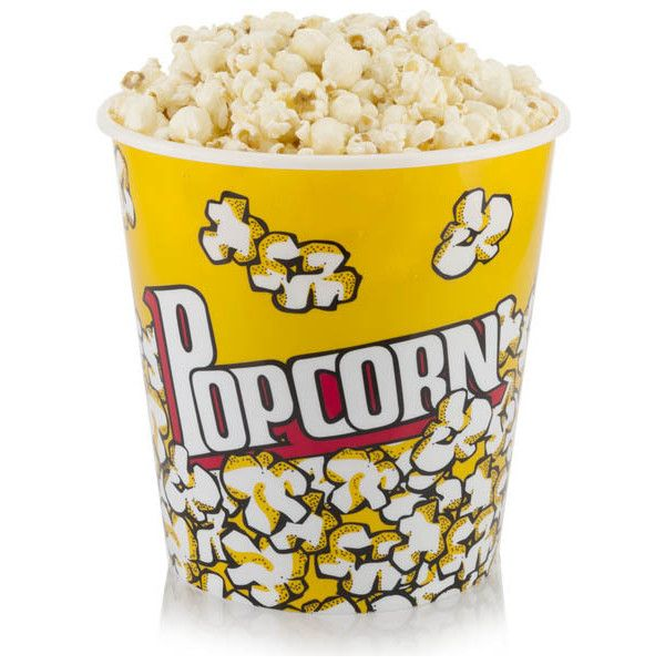 Popcorn Bucket- Large (695 UAH) ❤ liked on Polyvore featuring home, kitchen & dining, popcorn bucket, plastic popcorn buckets and plastic bucket