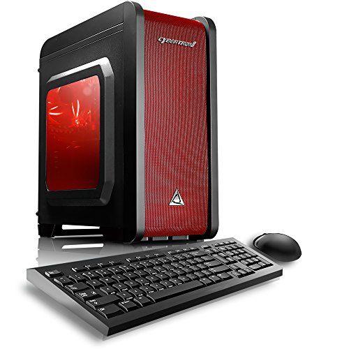 nice CybertronPC Electrum QS-A4 Gaming Desktop - AMD A4-7300 3.80GHz Dual-Core Processor, 8GB DDR3 Memory, AMD Radeon HD 8470D Graphics, 1TB Hard Drive, Microsoft Windows 10 Home 64-Bit
