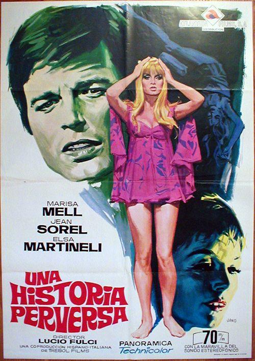 Una sull'altra (One on Top of the Other : English title) , Italy-France-Spain 1969 , by Lucio Fulci , with Marisa Mell (30, A ; foto) , Elsa Martinelli (34),Jean Sorel (35, F), Carlo Cucciolla (45) , Faith Domergue (45, USA) , Alberto De Mendoza (46, ARG) , John Ireland (55) /// Italian-Giallo ///