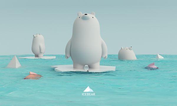 ICEBEAR by AARON MARTINEZ, via Behance