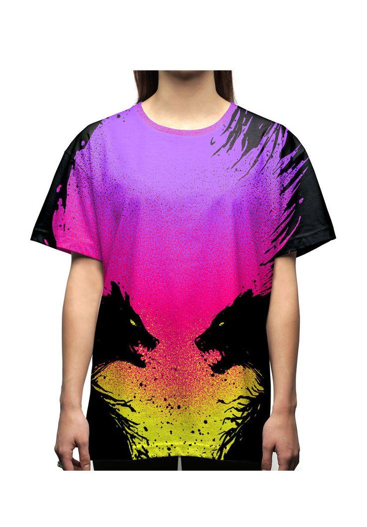 barmalisiRTB T-Shirt-Oversize Wild faces