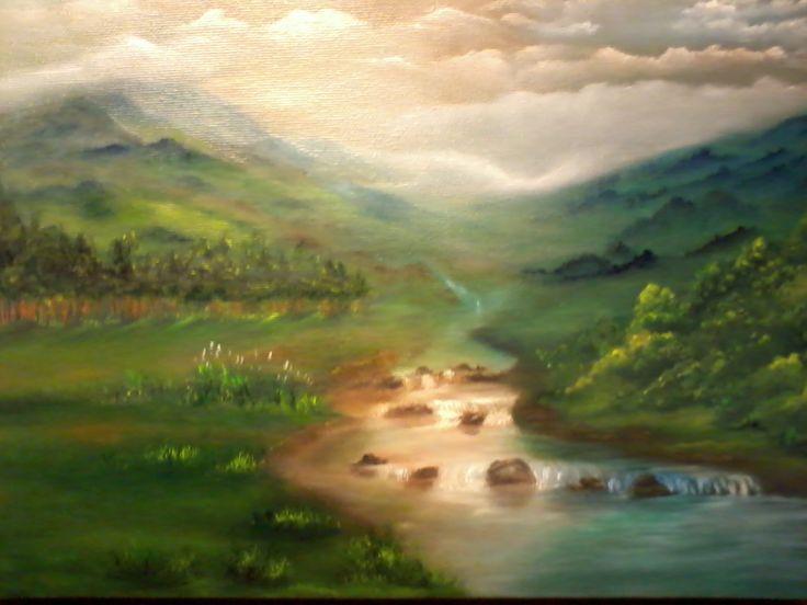 A Montanha (Óleo s/tela)