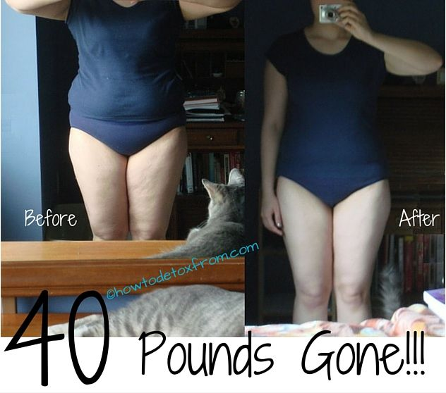 Here's how I dropped 40 pounds in just a couple of months! If I can do it…