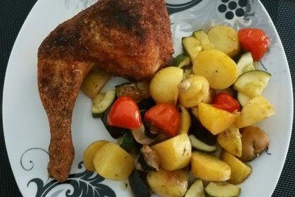 Hähnchenschenkel mit Ofen - Schmand - Gemüse, ein tolles Rezept aus der Kategorie Geflügel. Bewertungen: 260. Durchschnitt: Ø 4,5.