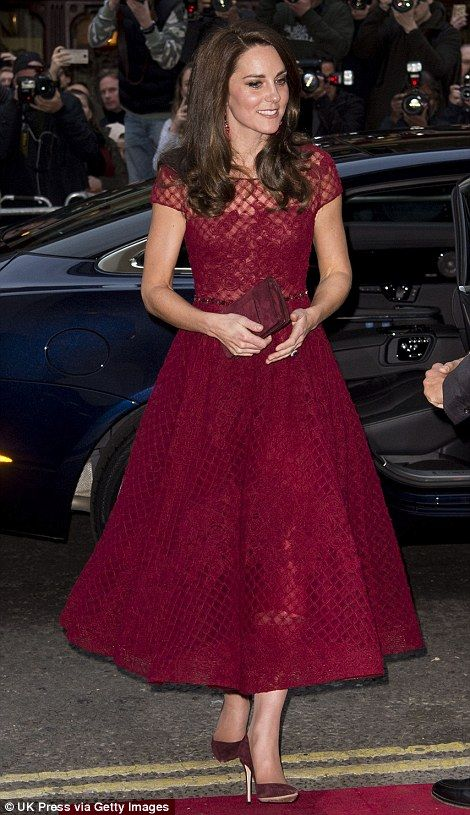 Duchess of Cambridge attends a musical in the West End #dailymail