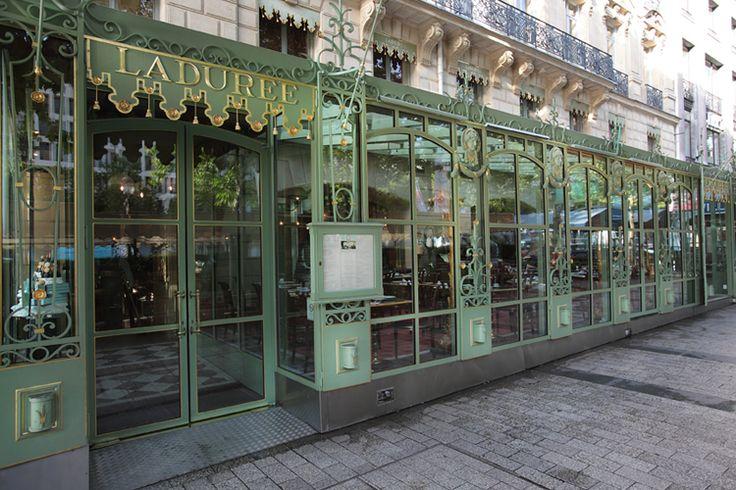 Famous Paris Bakery....Laduree