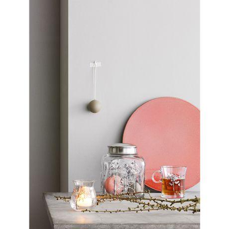 Holmegaard Holmegaard Christmas Christmas biscuit Jar 2015 15 cm x 12 cm