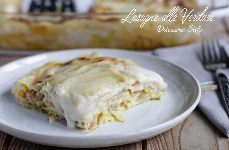 Questa ricetta è davvero ottima,le Lasagne alle Verdure sono un primo piatto perfetto anche per i vegetariani perchè privo di carne,ma davvero molto gustoso