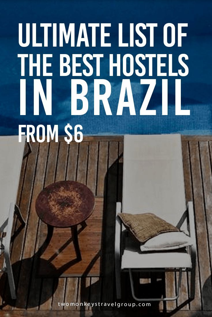 Ultimate List of The Best Hostels in Brazil In this article, you will find the following – Best hostels in Brazil; Best hostels in Rio de Janeiro; Best hostels in Sao Paulo; Best hostels in Florianopolis; Best hostels in Foz do Iguacu; Best hostels in Salvador; Best hostels in Jericoacoara; Best hostels in Curitiba; Best hostels in Fortaleza.