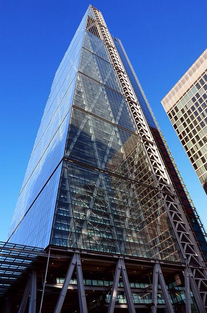 Bottom to top view of the Cheesegrater