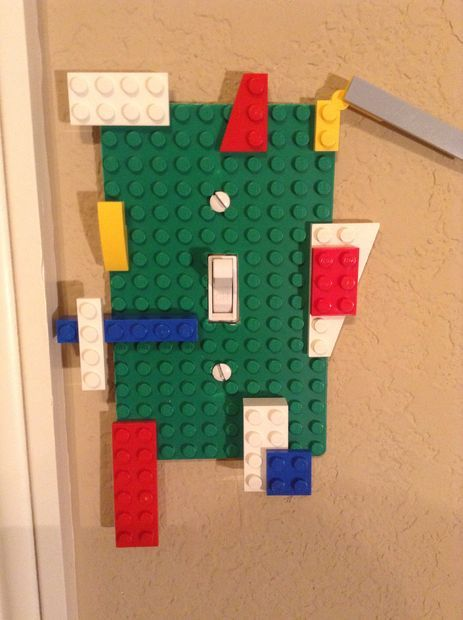 DIY LEGO Light Switch Cover