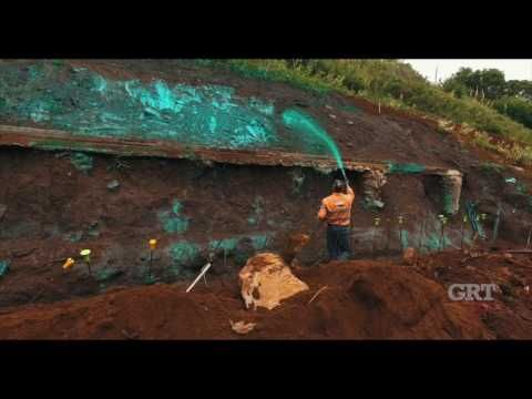 Global Road Technology Enviro Slope Stabilization and Erosion Control Ap...