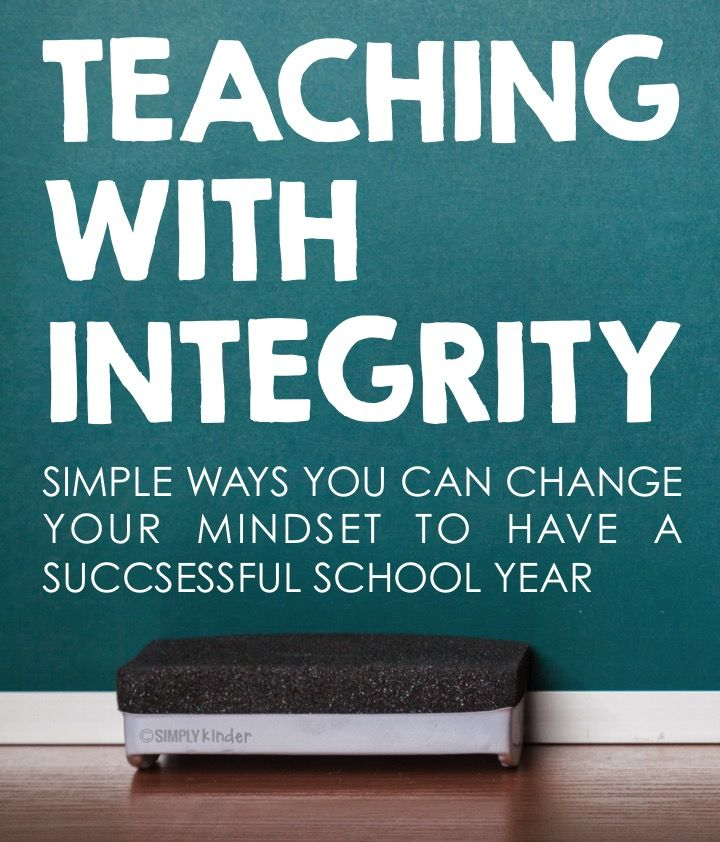Teaching with Integrity | Everything, Simply kinder and ...