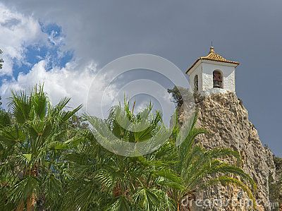 Tower Of Guadalest - Download From Over 37 Million High Quality Stock Photos, Images, Vectors. Sign up for FREE today. Image: 61641931