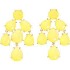 Kate Spade New YorkFlo Yellow, Earrings Yellow, Spade Chandeliers, Chandelier Earrings, Chandeliers Earrings, York, Earrings Flo, Kate Spade, Jewelry Boxes