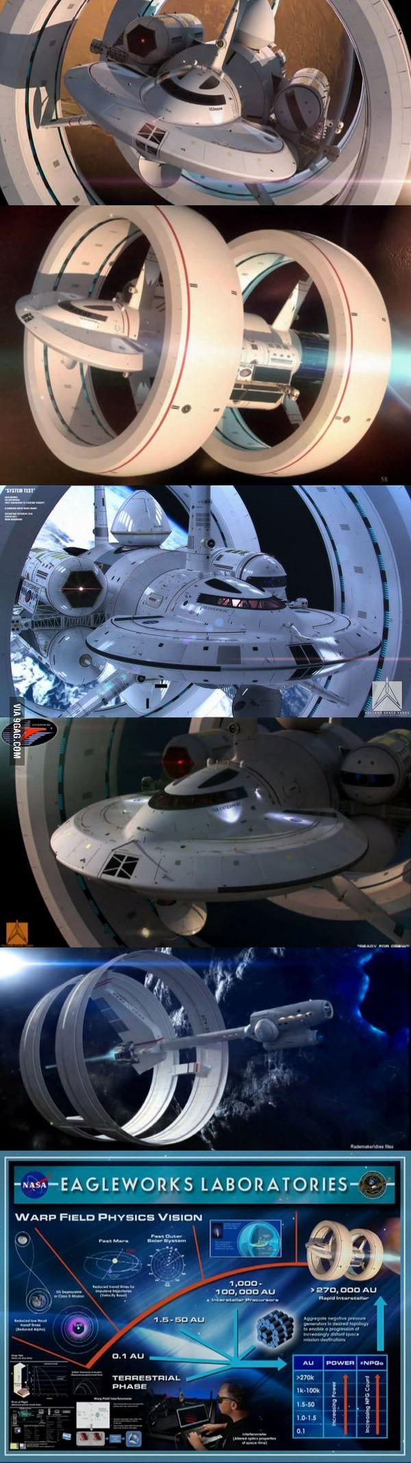NASA's warp drive concept | NASA's warp drive concept This is the FUTURE, people!!