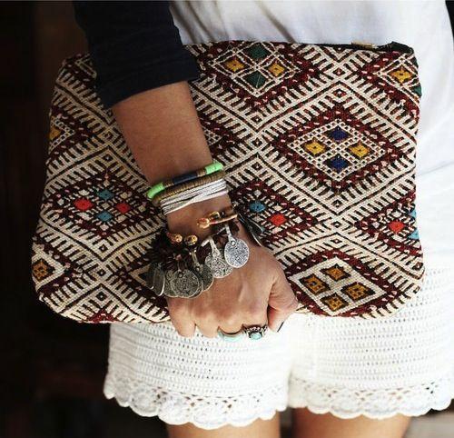 .Moroccan clutches. Shop with us @ www.maisondemarrakech.com