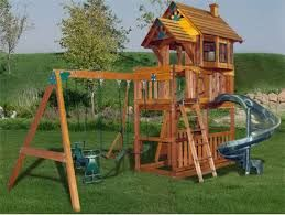 Image result for wooden playground