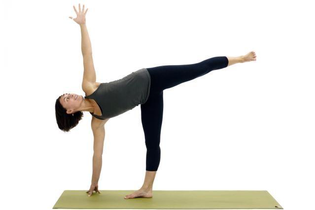 Got a Handle on the Basics? Try These Intermediate Yoga Poses: Half-Moon Pose - Ardha Chandrasana