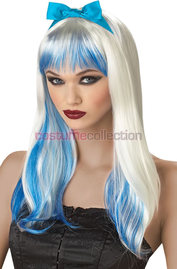 Womens Blonde Enchanted Alice Costume Wig