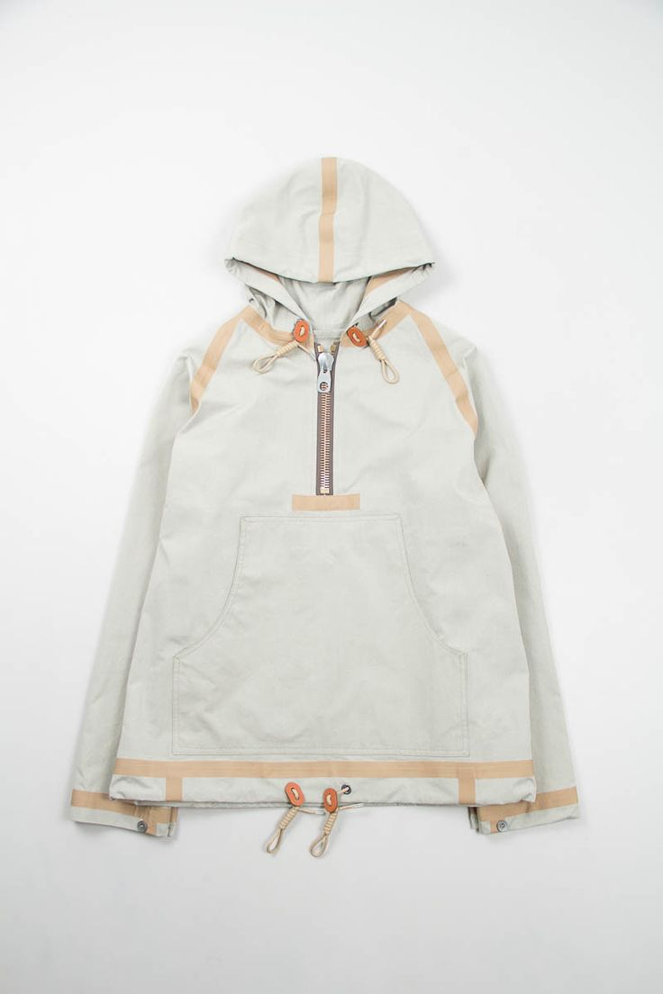 Beige Short Taped Smock