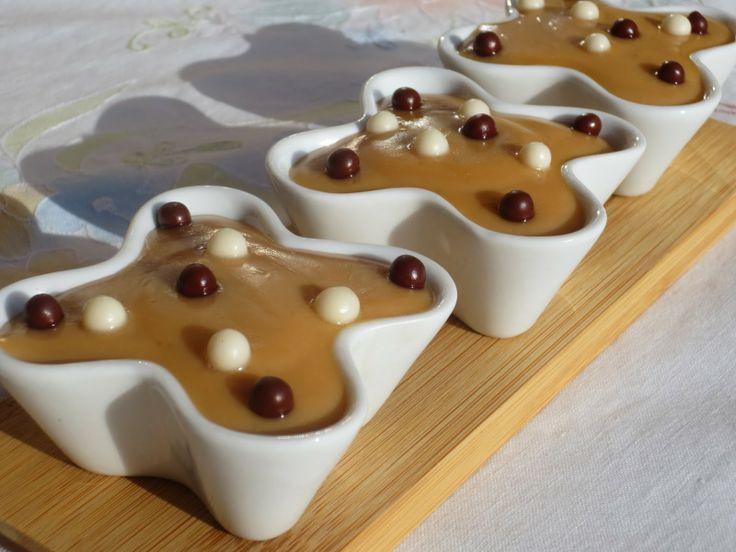 Natillas de dulce de leche Ana Sevilla