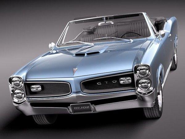 1966 Pontiac GTO Convertible                                                                                                                                                                                 More