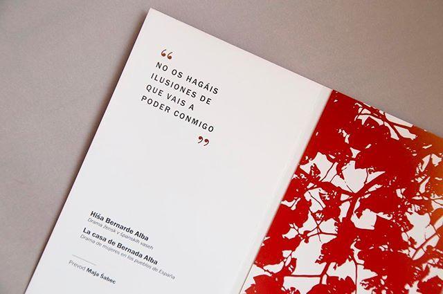 La casa de Bernarda Alba Pieza editorial / 3 inspiration,editorialdesign,creative,red,freelance,must,layout,mustedesign,instadaily,designspiration,muste,visualsoflife,designstudio,graphicdesign,startup,flatlay,entrepeneurs,paper,colours,keepitsimple,editorial