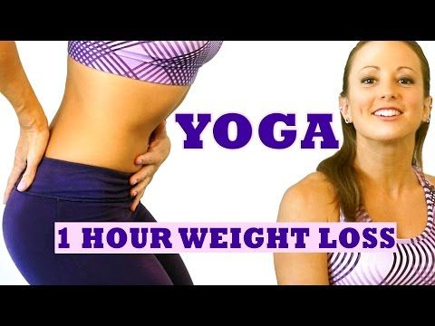 1 Hour Weight Loss Yoga Workout For Beginners. Full Body Yoga Class At Home - YouTube