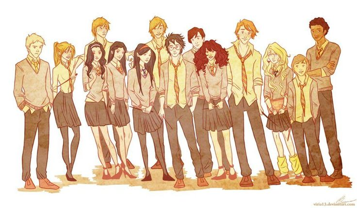 Dumbledores army by viria13.deviantart.com on @deviantART ~ This gal does some amazing Harry Potter fanart among other things!!