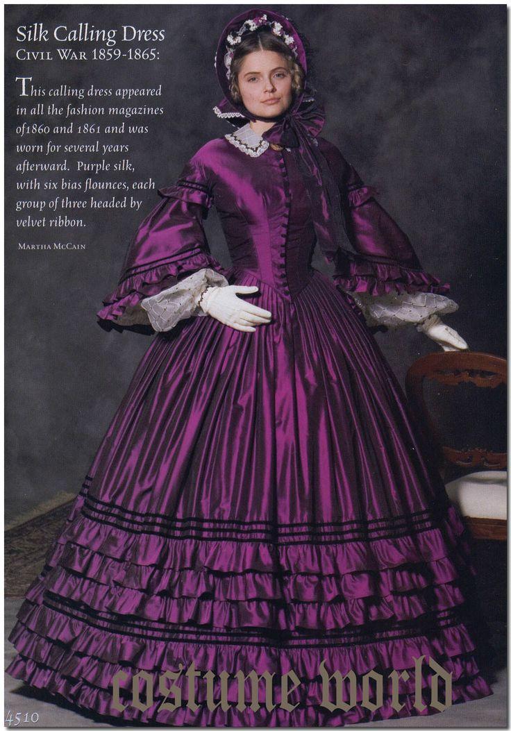 Pattern S4510 Simplicity Costume Women Misses Sizes 8 14 Civil War Dress | eBay
