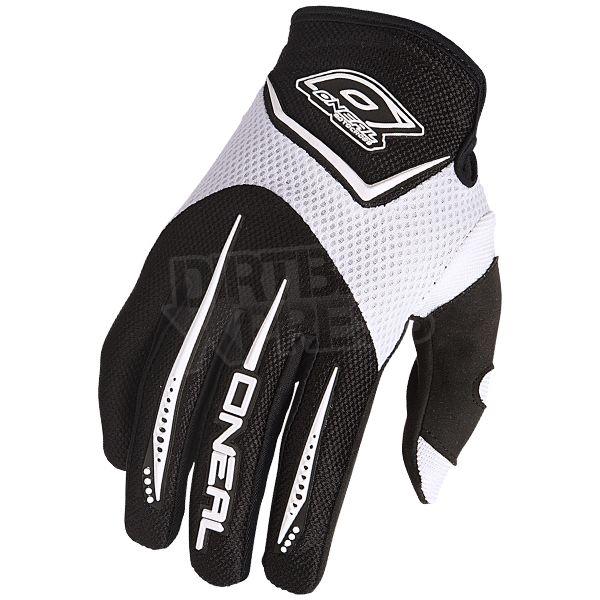 2016 ONeal Element Kids Motocross Gloves - White