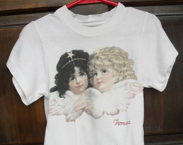 Fiorucci shirts (slightly ironically, though?) | The 29 Fashions Of The Early 2000s You Wish Never Happened