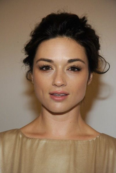 Crystal Reed makeup by Ricky Wilson