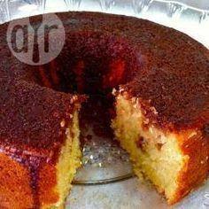Bolo de laranja e chocolate sem ovo @ allrecipes.com.br