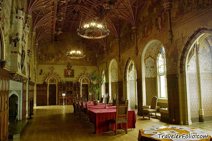 Medieval Banquet Hall Fantasy Castle Banquet Hall