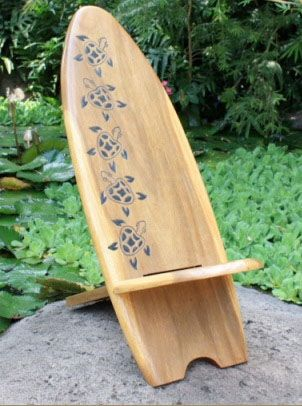 Surf & Beach Decor - Turtle Surfboard Chair