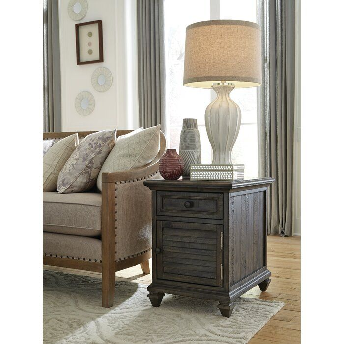 Heitman End Table With Storage Carbon Loft End Tables With Storage End Tables