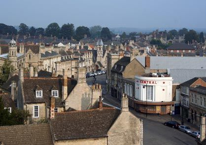 Roof-tops of Stamford by Paul Towers